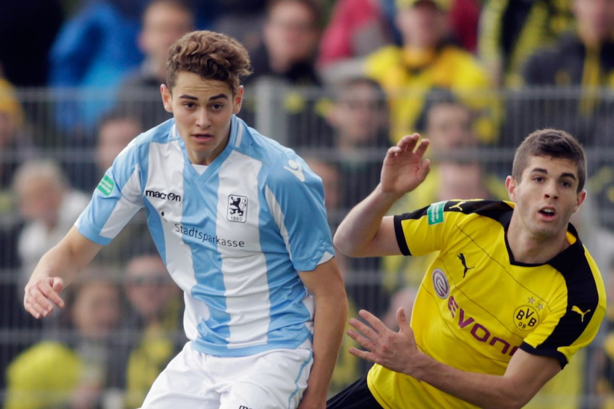 1860 Muenchen U19  v Borussia Dortmund U19 - German U19 Championship Semi Final First Leg