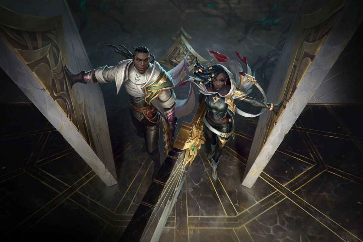 League of Legends - Senna and Lucian enter the HQ of the Sentinels of Light