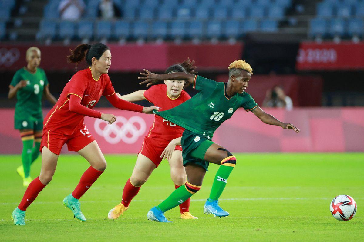 FOOTBALL-OLY-2020-2021-TOKYO-CHN-ZAM