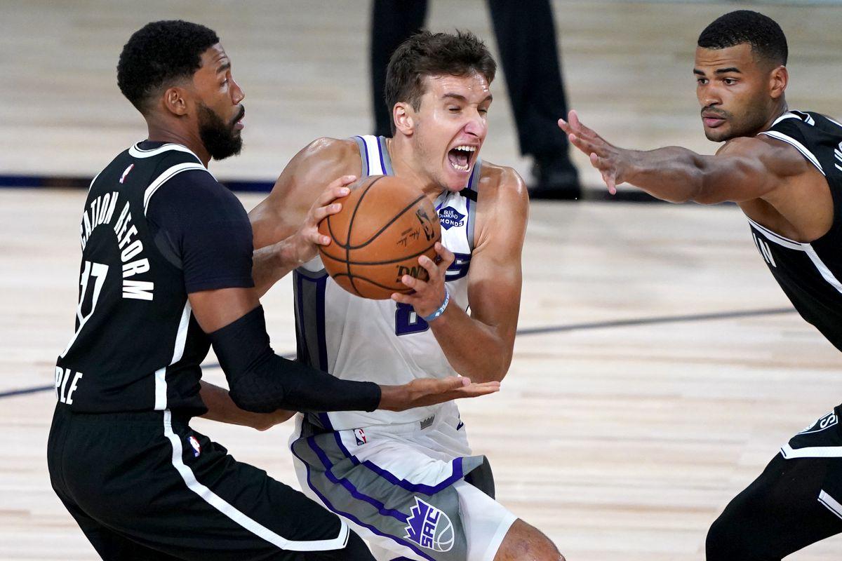 NBA: Sacramento Kings at Brooklyn Nets