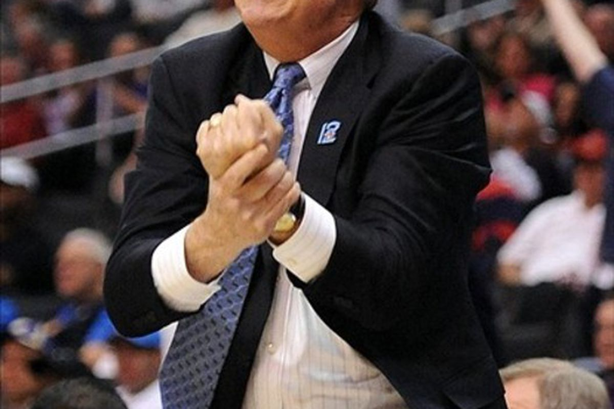 """""""This is what I'm going to do to the selection committee if we're not in the tournament!"""""""
