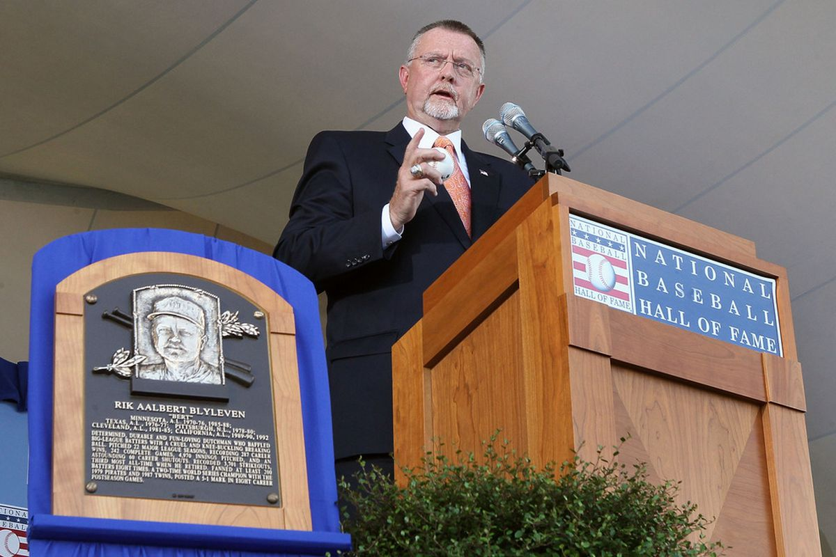 Former Angel and Twin and new Hall of Famer Bert Blyleven will throw out the ceremonial first pitch before tonight's game.