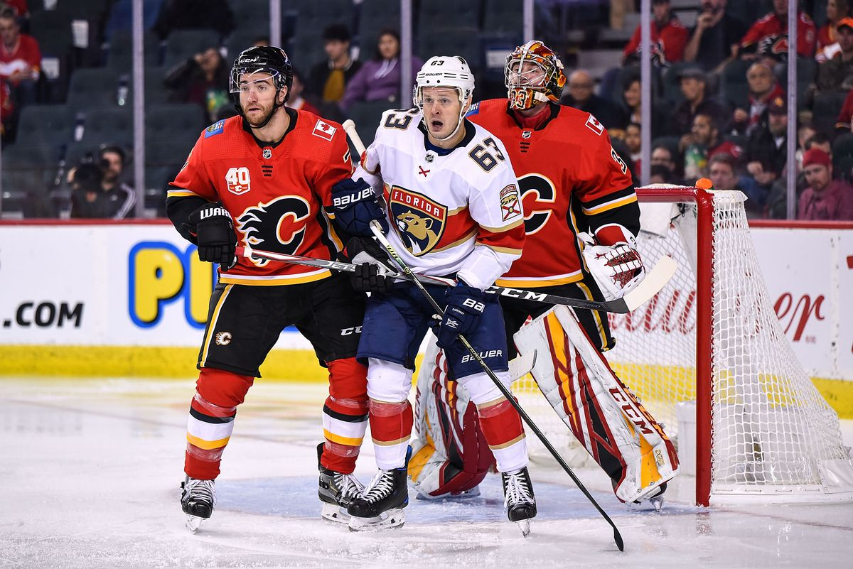 NHL: OCT 24 Panthers at Flames