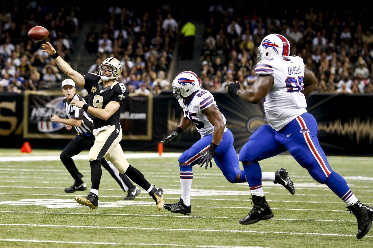Bills Saints Final Score Drew Brees Dominates As Saints Win 35 17 Buffalo Rumblings