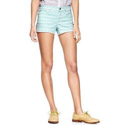 """1969 Printed Summer Cut-Offs in Dockside Blue, $49.95 at <a href=""""http://www.gap.com/browse/product.do?cid=93973&vid=1&pid=351691022"""">Gap</a>"""