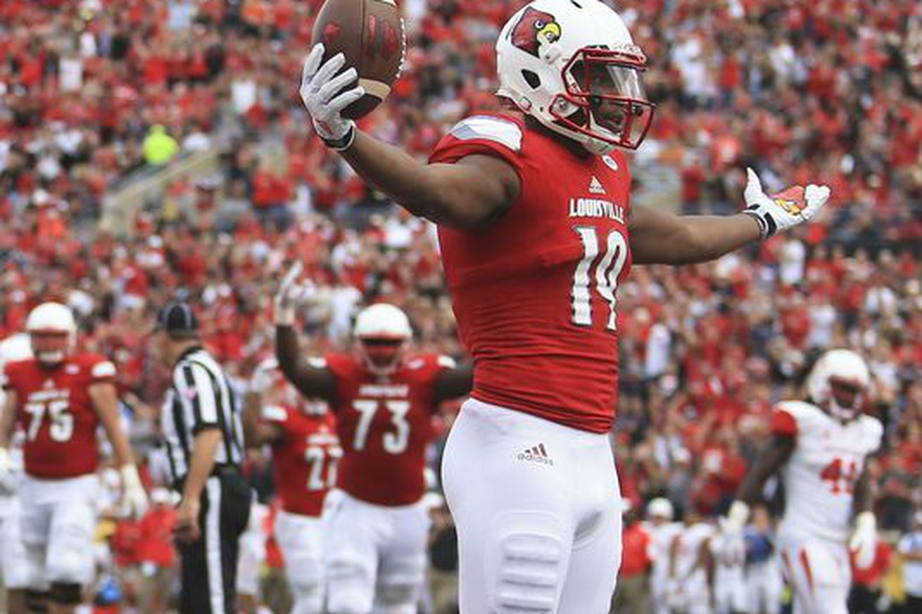 Tuesday evening, the Louisville Cardinals took a hit to their wide receiver depth chart as ...