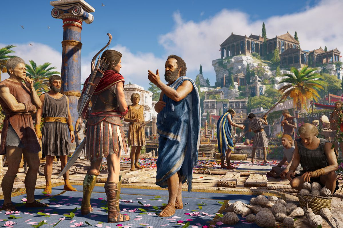 Modern Politics Is A Trojan Horse In Assassin S Creed Odyssey