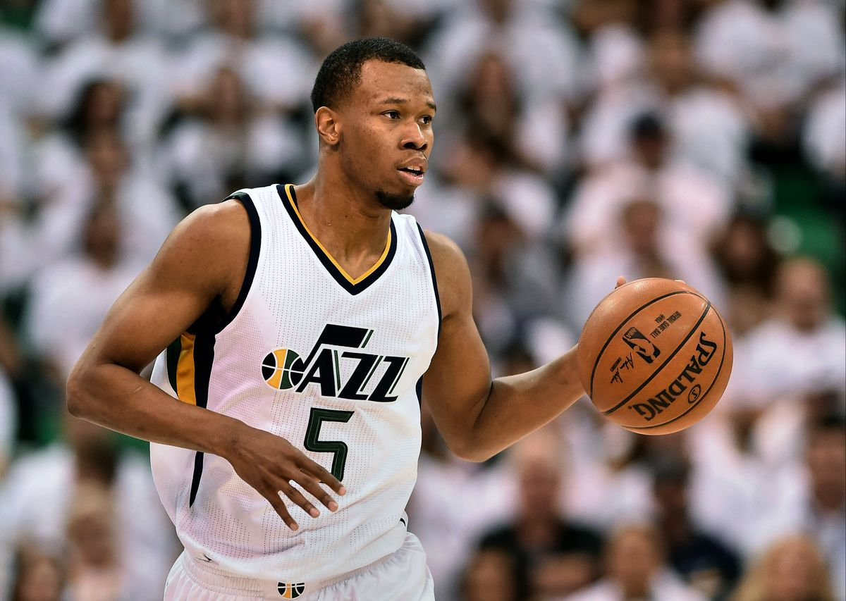 Rodney Hood when he was a member of the Jazz