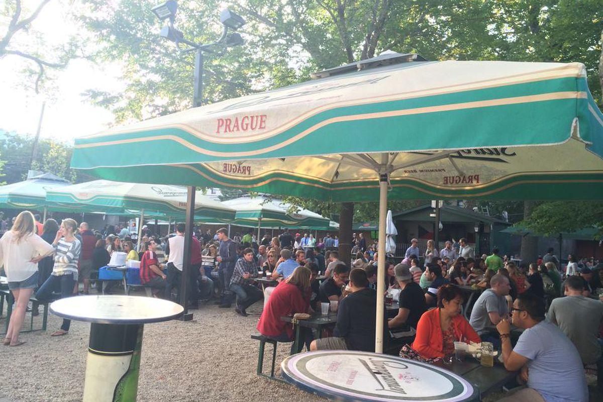 photo via facebook historic astoria restaurant and bar bohemian hall and beer garden - Bohemian Beer Garden