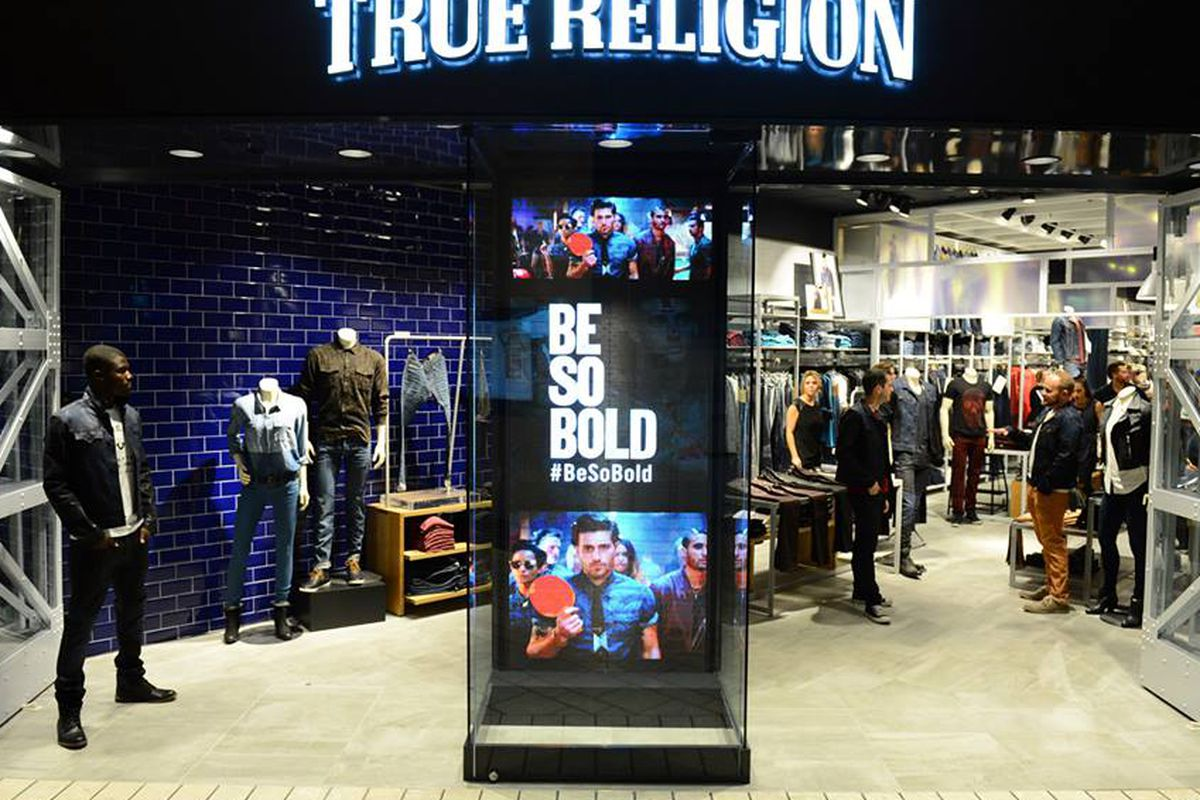"The brand's newest store in Beverly Hills. Photo: <a href=""https://www.facebook.com/truereligion/photos_stream"">True Religion</a>/Facebook"