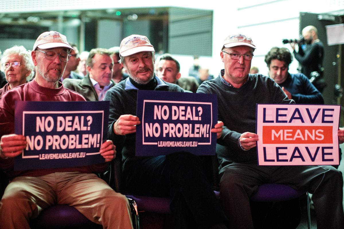 Leave Means Leave Campaign Hosts Latest Brexit Rally