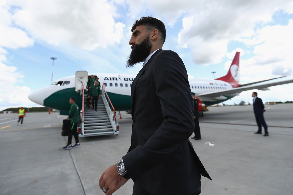 Australian Team Arrive In Russia For The 2018 World Cup