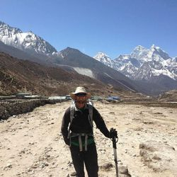 Steve Pearson and partner David Roskelley climbed to the summit of Mount Everest on May 19.