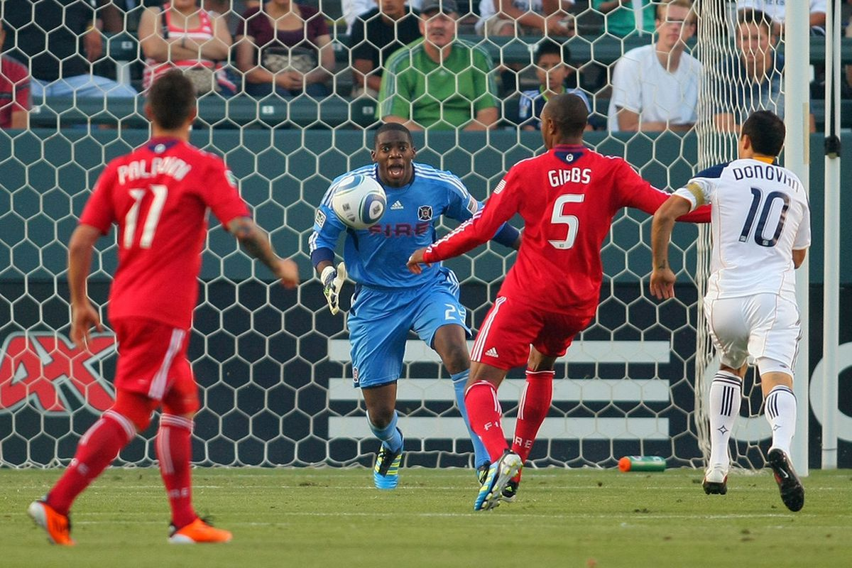 Cory Gibbs anchored the defensive line for the Chicago Fire in 2011 and he came through the Re-Entry Draft