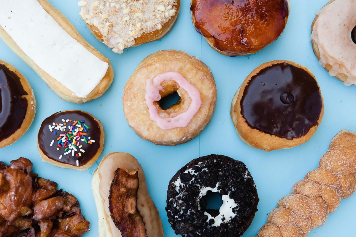 Doughnuts from Rise Biscuits & Donuts