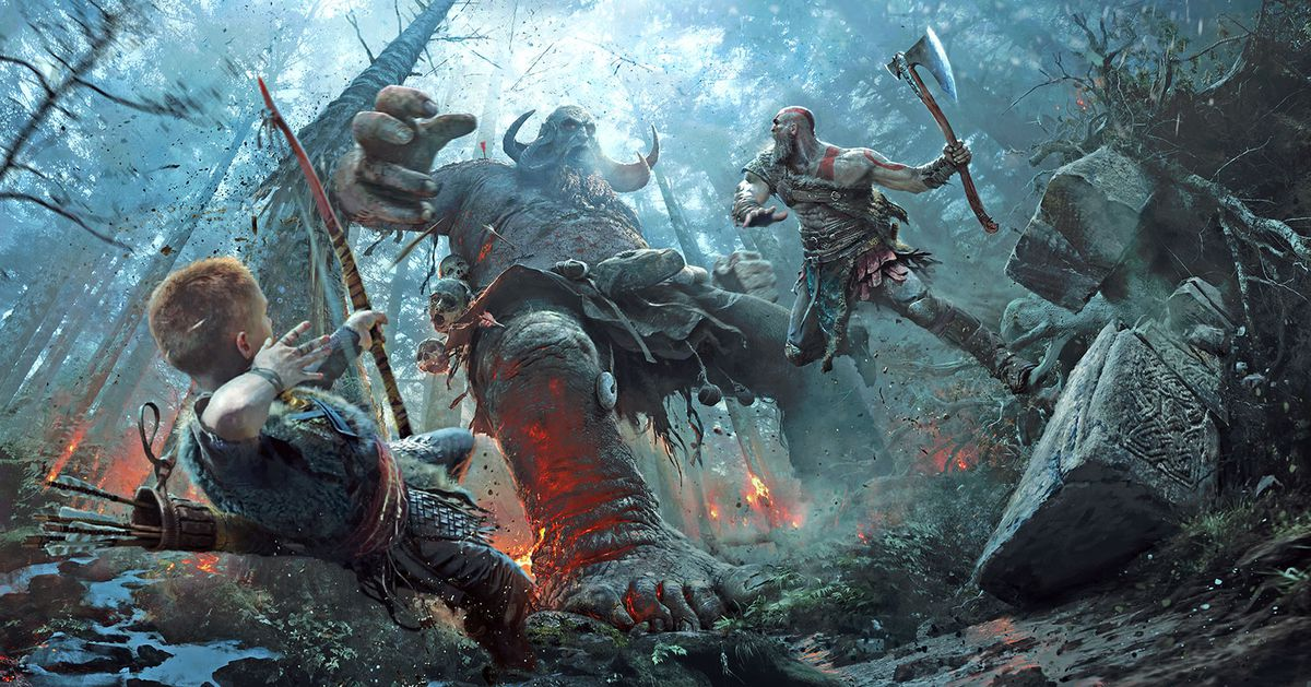 God of War?s violent world comes to life in these stunning art prints