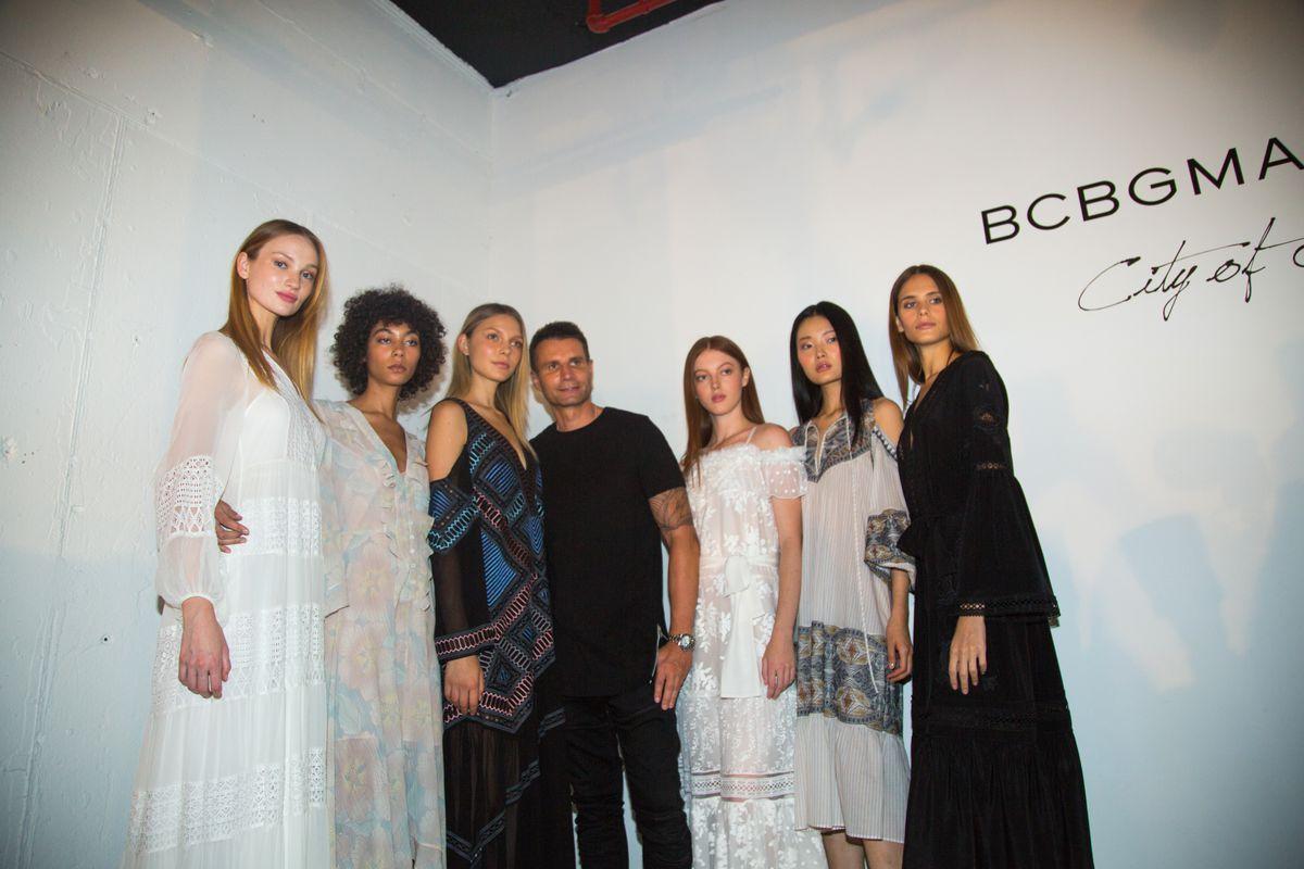 BCBG's new creative director, Bernd Kroeber, at NYFW.