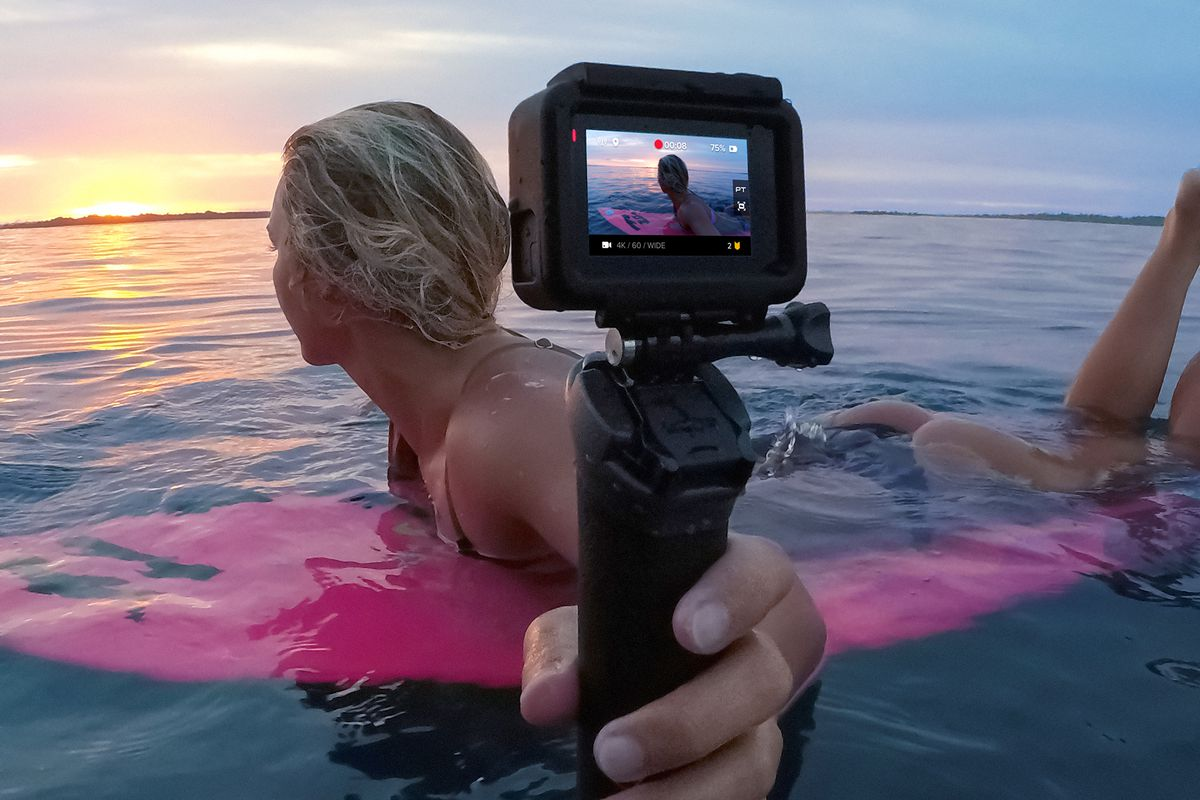 GoPro Fusion is a waterproof 360-degree camera that goes beyond VR