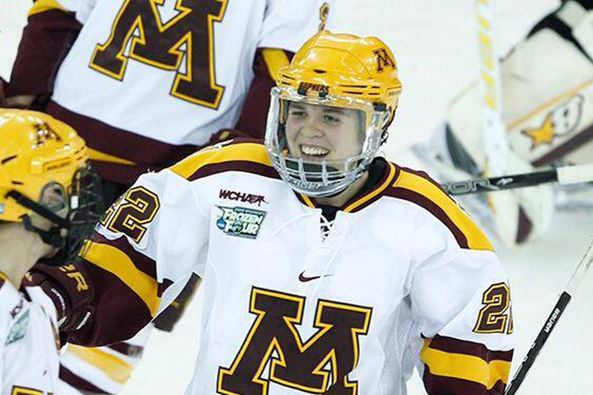 Hannah Brandt led the Gophers with seven points on the weekend!