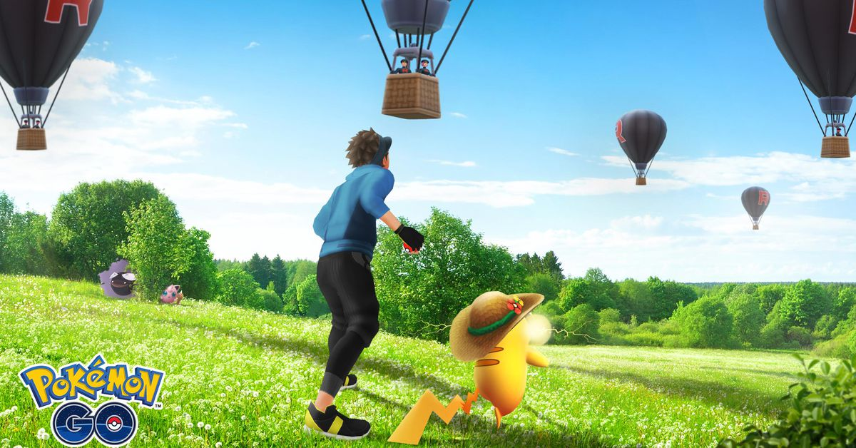 Pokémon Go's Team Rocket will come harass you by hot air balloon now thumbnail