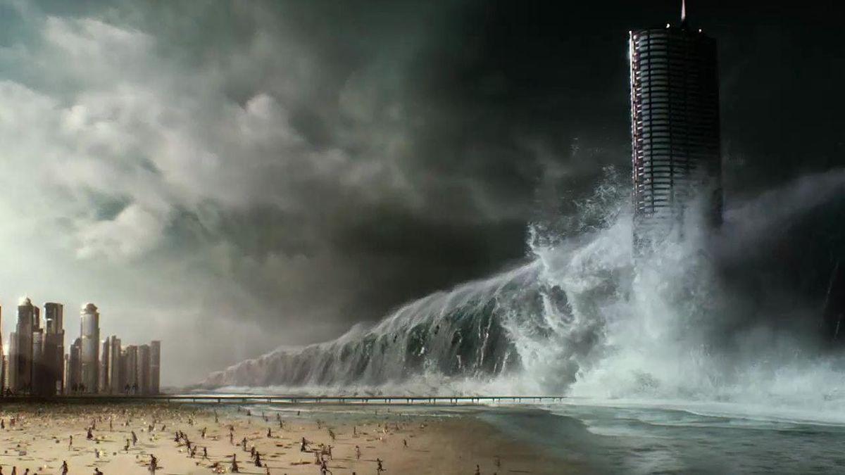 Geostorm: a giant wave