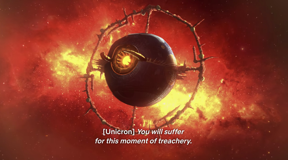 Unicron in Transformers: War for Cybertron - Earthrise