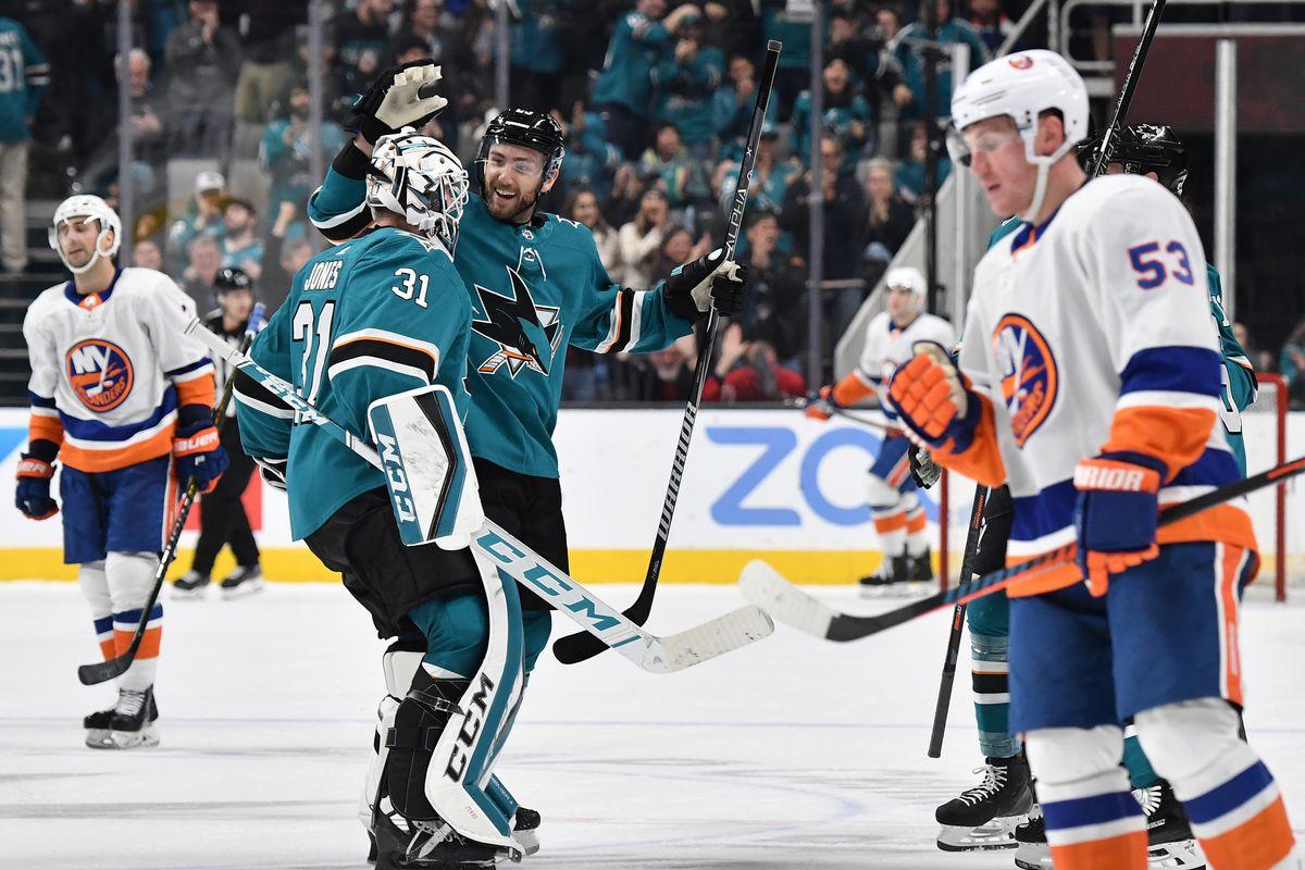 New York Islanders v San Jose Sharks