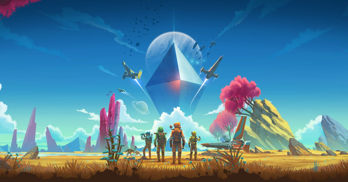 photo image No Man's Sky is finally getting multiplayer in July