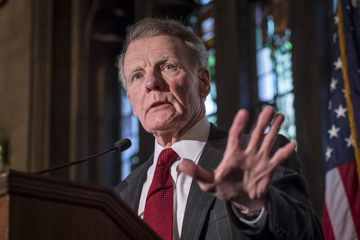 Former Illinois House Speaker Michael Madigan,  seen at the University Club of Chicago in 2015, was often seen as an impediment to reform during his record tenure in Springfield. But, in the first session without him, legislators still backed away from significantly toughening governmental ethics laws.