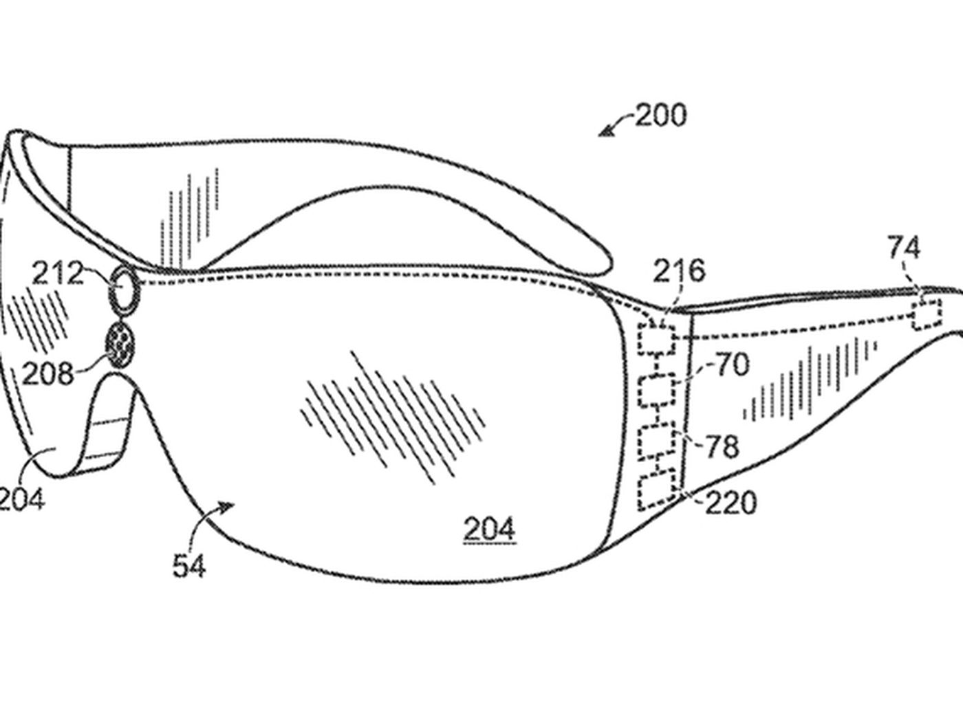 Microsoft Patent Application Resembles Leaked Kinect Glasses