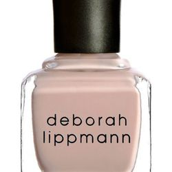 "<strong>Deborah Lippmann</strong> Naked at <strong>Barneys</strong>, <a href=""http://www.barneys.com/Deborah-Lippmann-Naked/00505011215097,default,pd.html?cgid=womens-beauty&index=22"">$17</a>"