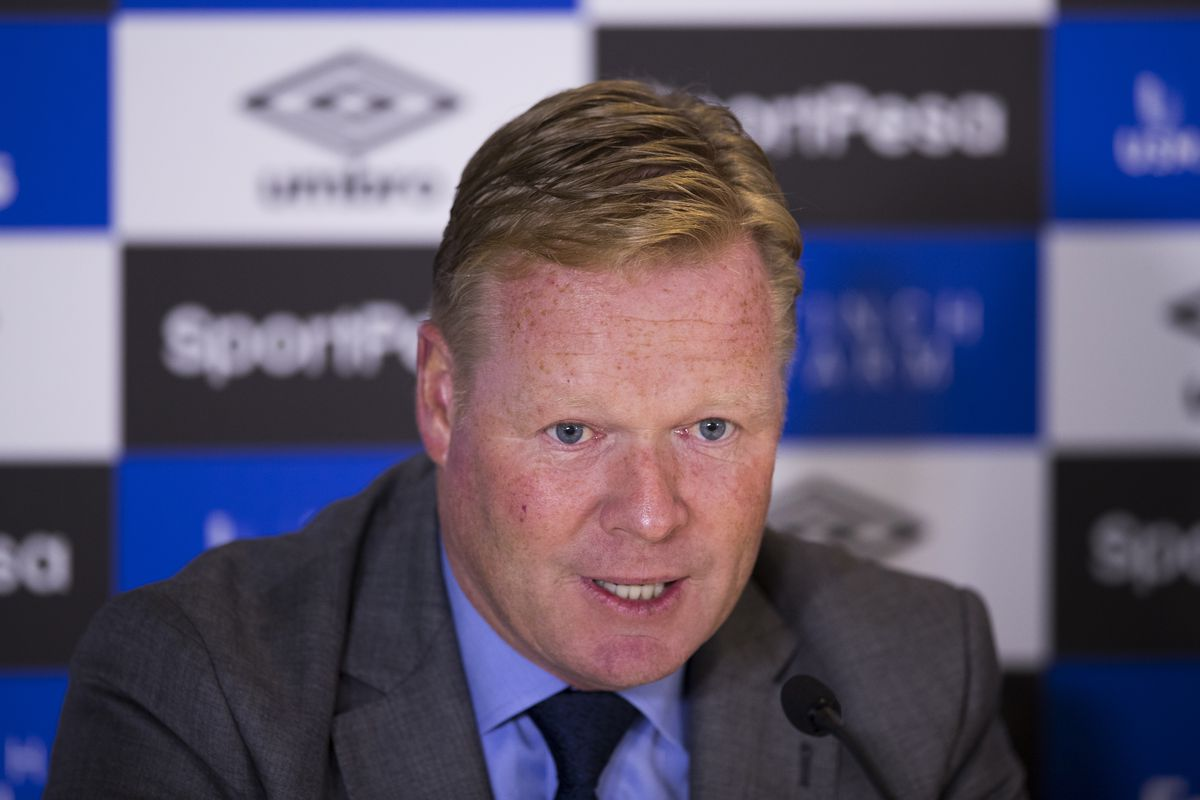 Everton manager Koeman wants to sign another striker and winger