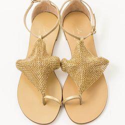 "<strong>Scarpa</strong> Lola Cruz toe ring rhinestone sandals, <a href=""http://thinkscarpa.com/products/toe-ring-rhinestone-sandal"">$265</a>"