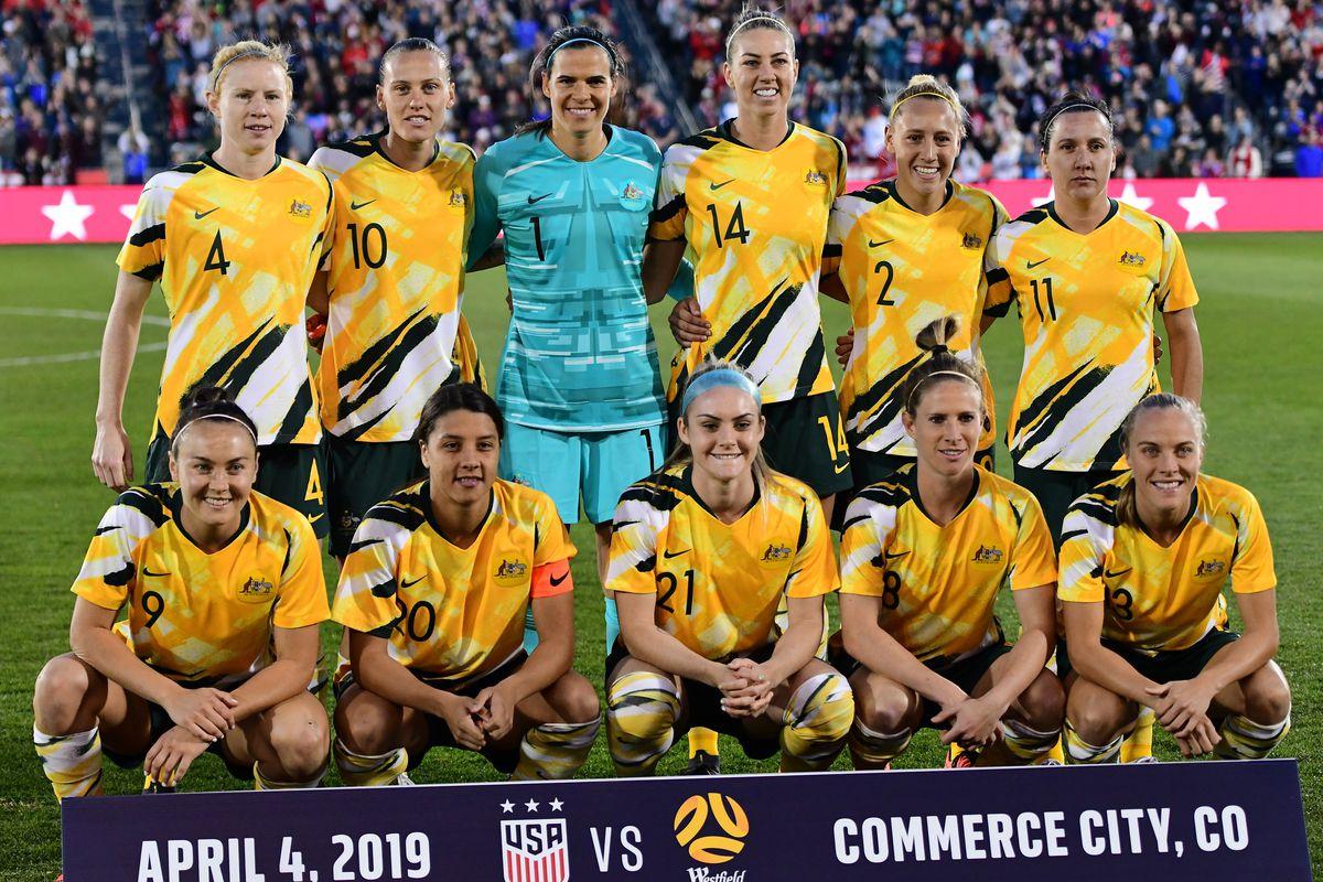 Soccer: International Friendly Women's Soccer-Australia at USA