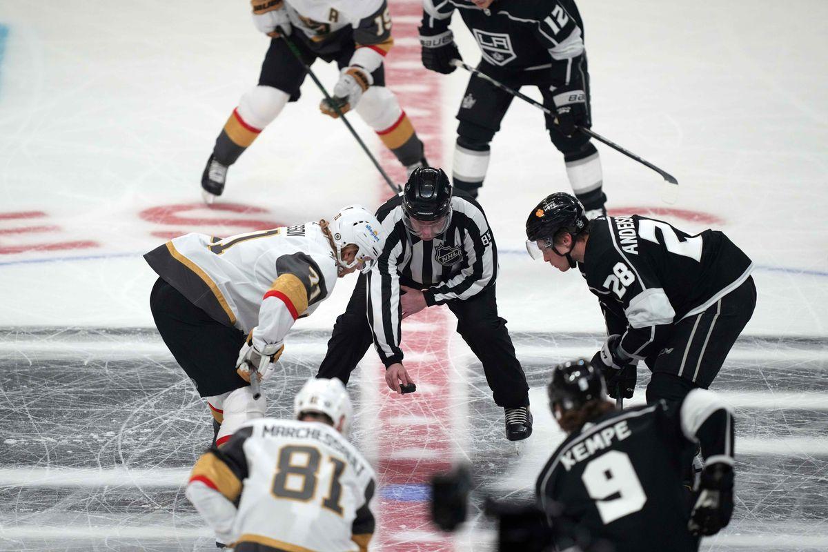 NHL: Vegas Golden Knights at Los Angeles Kings