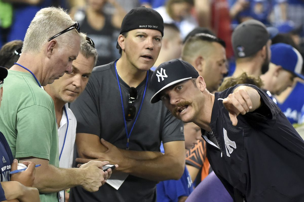 """""""I can't believe it either. They let me play baseball right over there!"""""""