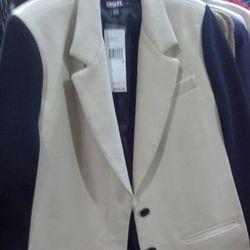 Color-blocked cape, $125