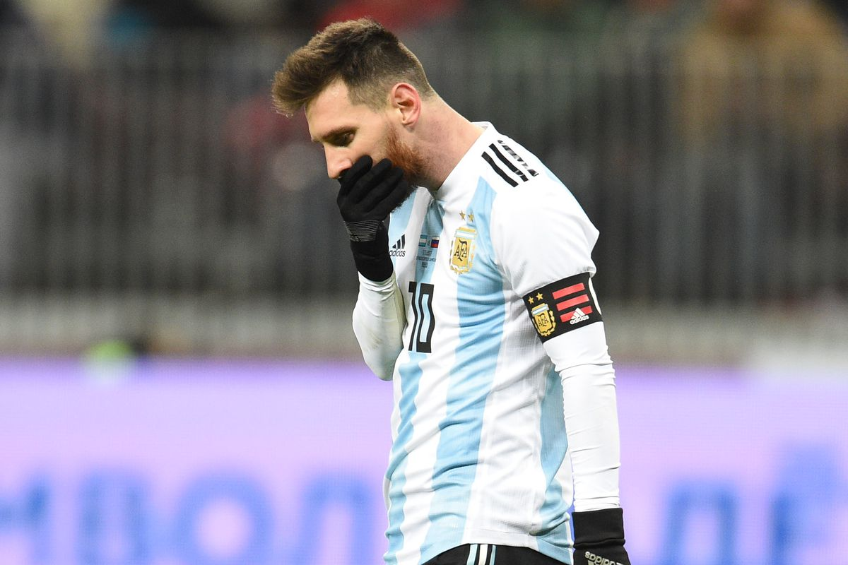 9532e0732bd Lionel Messi facing incredible pressure as Argentina chase World Cup glory