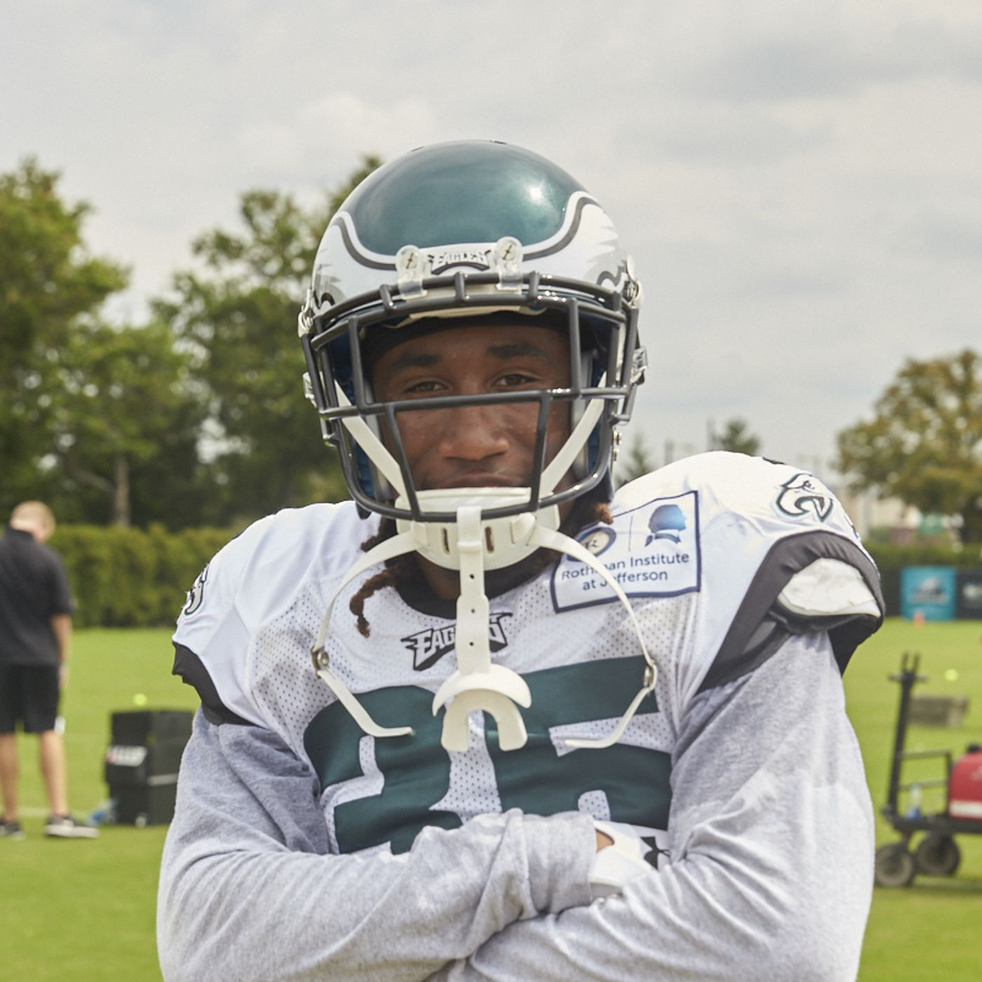 """Ronald Darby plans on changing his """"horrible"""" Eagles jersey number ..."""