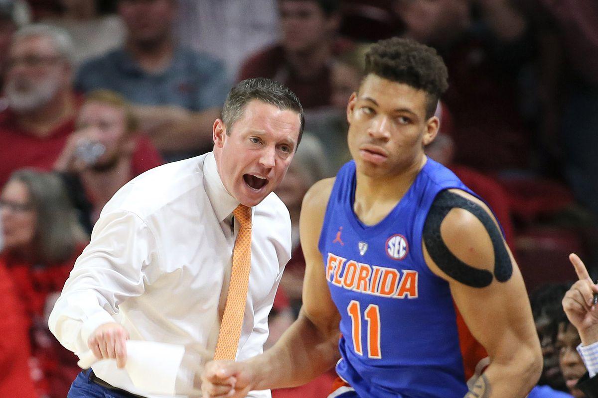 NCAA Basketball: Florida at Arkansas