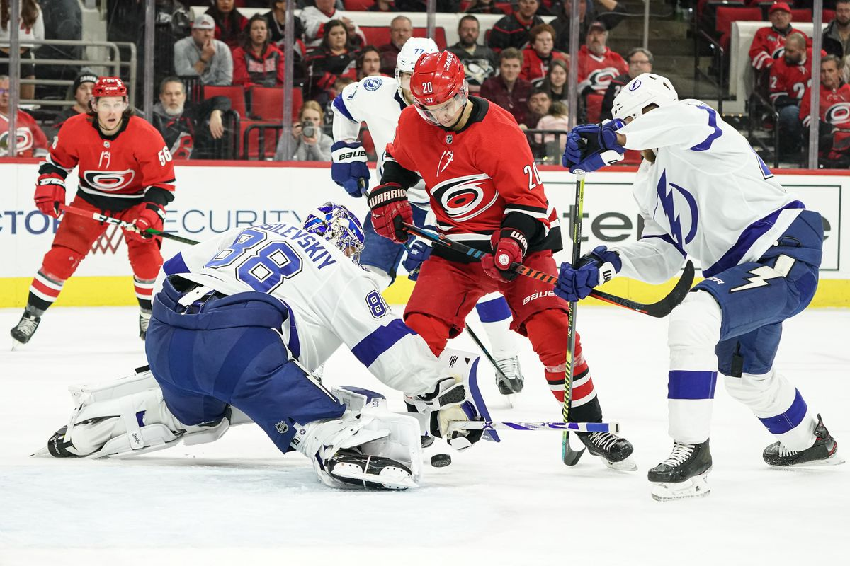 NHL: JAN 05 Lightning at Hurricanes