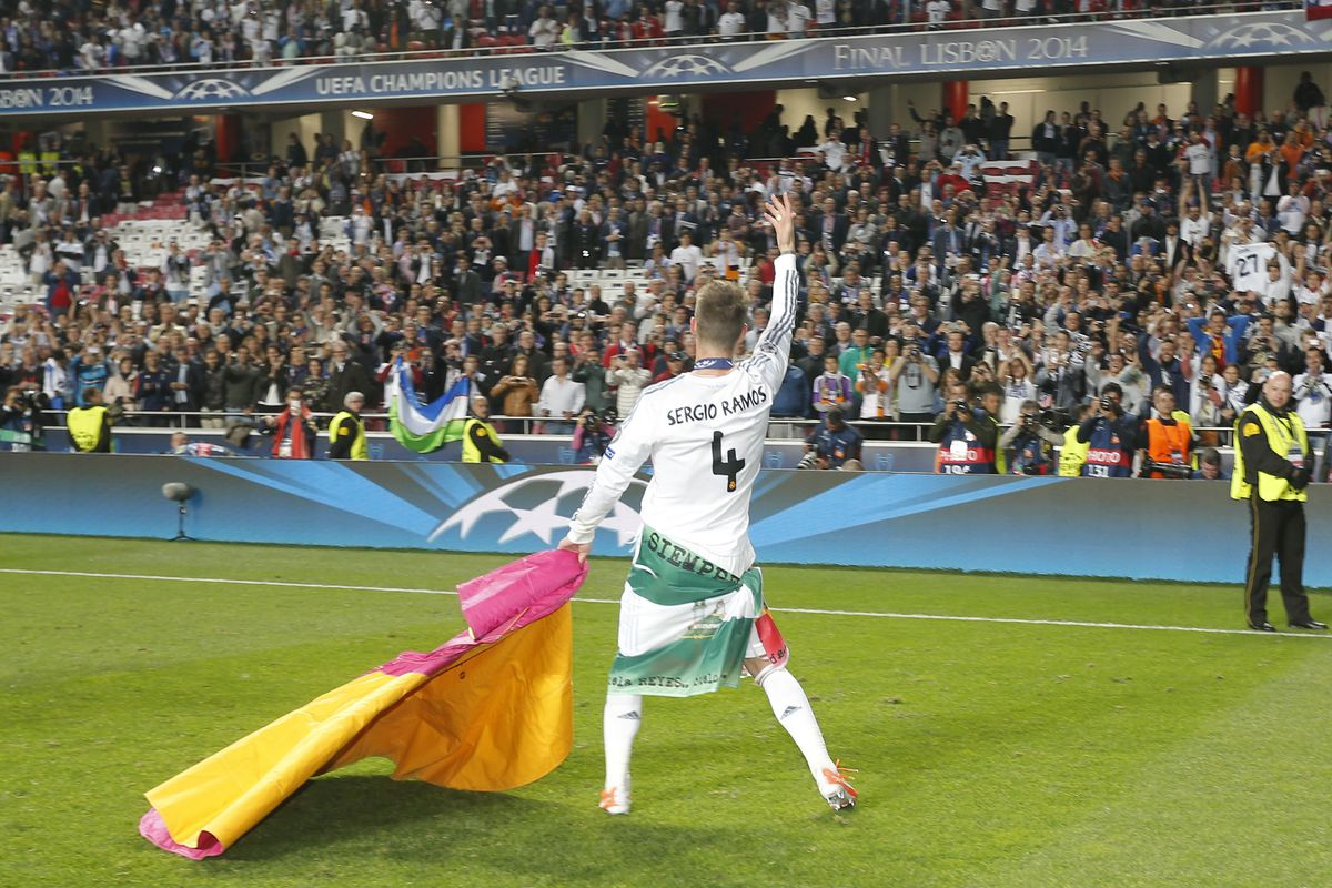 Real Madrid Celebration After UEFA Champions League Final