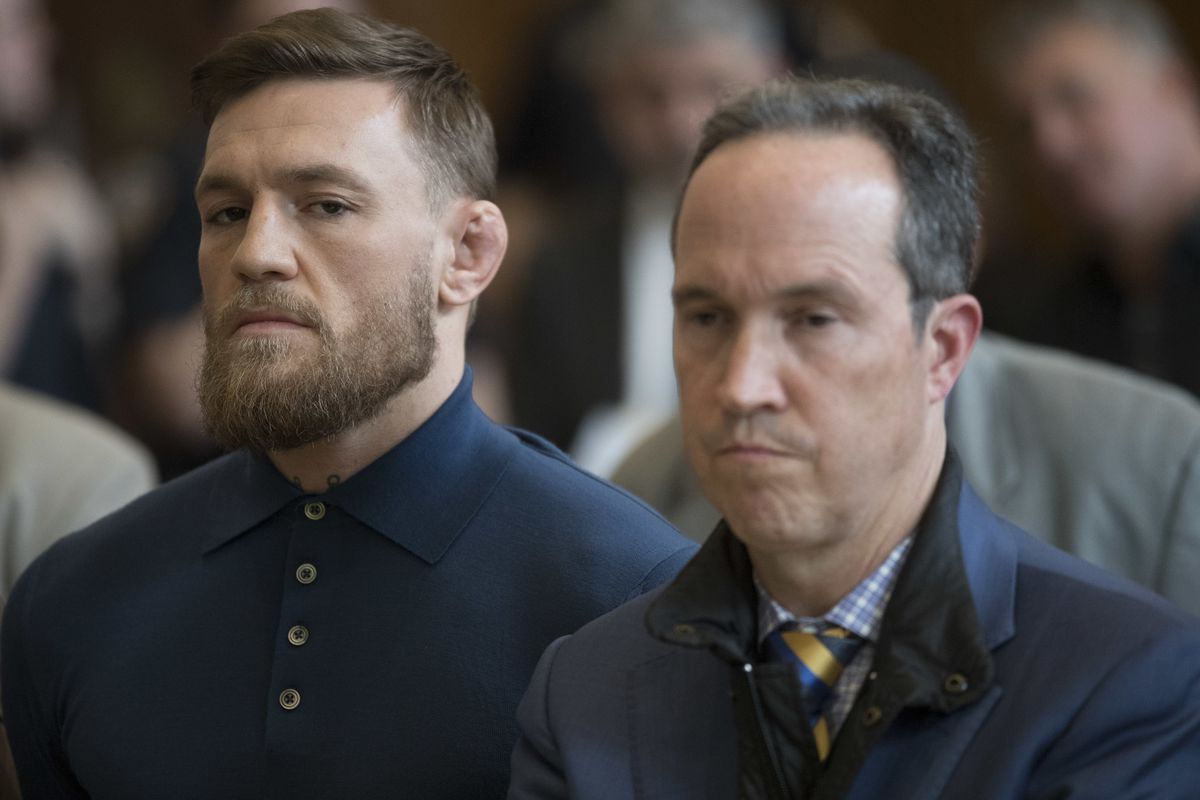 Conor McGregor will appear in New York court tomorrow ...