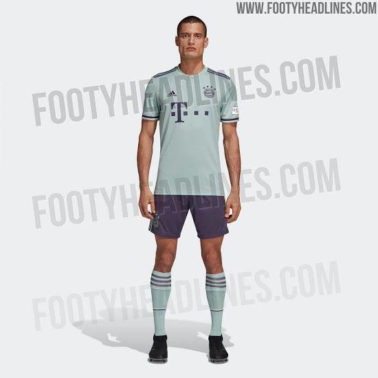 69988b51 Kit leak alert: Bayern Munich's full away kit has been outed ...