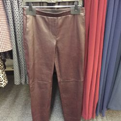 Leather pants, $369