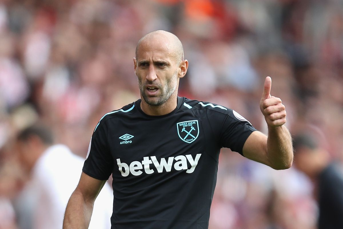 Hammers Player of the Month September 2017 Pablo Zabaleta