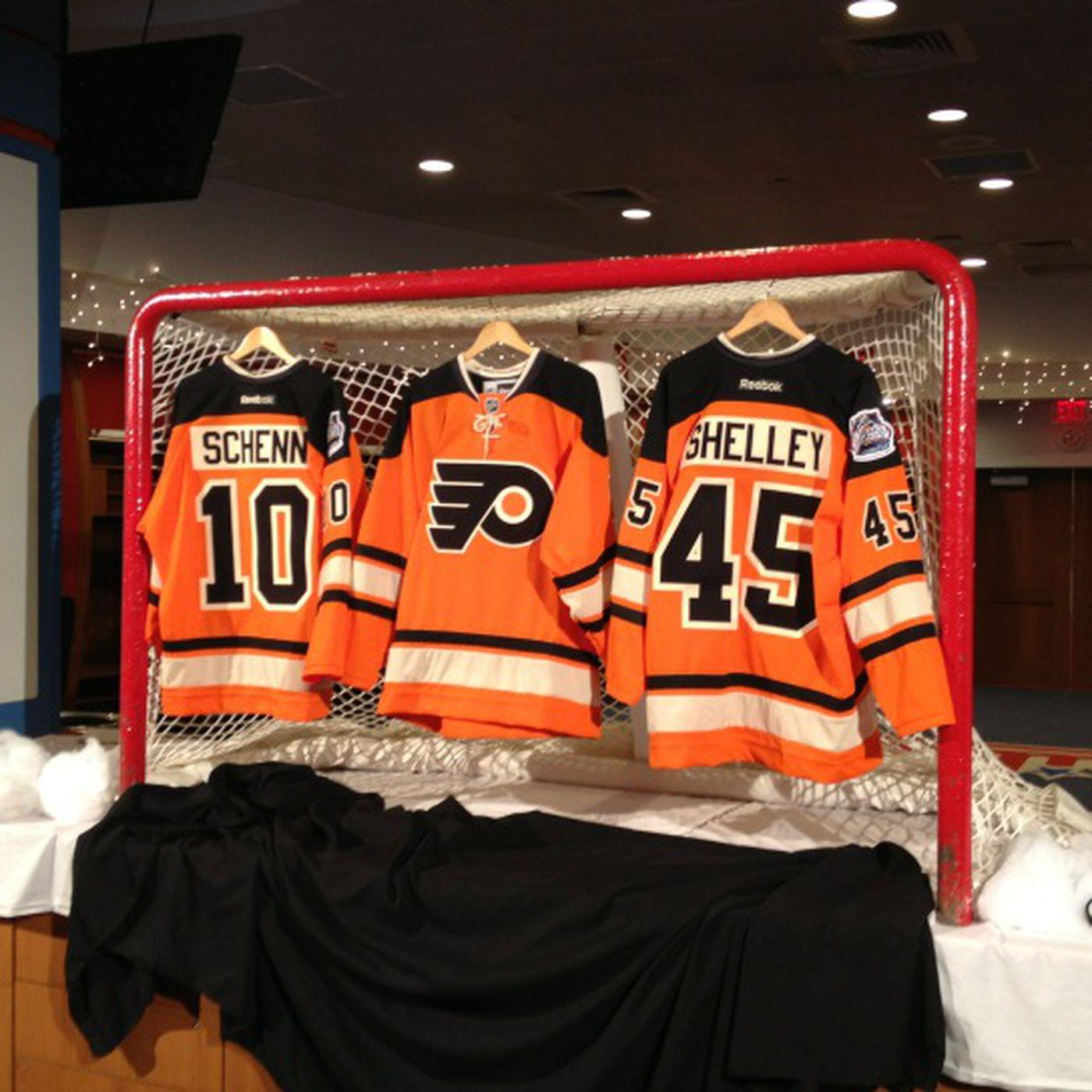 Philadelphia Flyers Winter Classic Jerseys  Sort of a disappointment ... dada6b52c