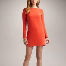 "Tibi slit-back shift dress, $396 at <a href=""http://www.alexanderwang.com/stores/list?country=US&region=9&city="">Bergdorf Goodman</a>"