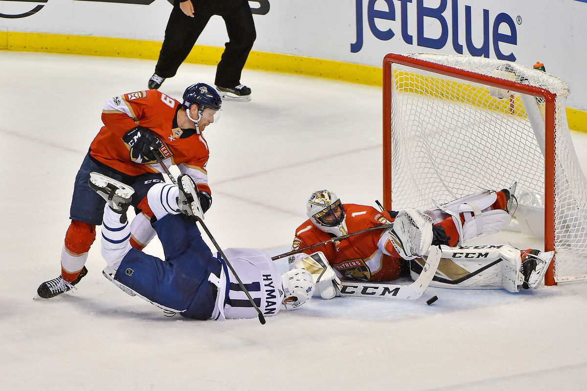 NHL: Toronto Maple Leafs at Florida Panthers