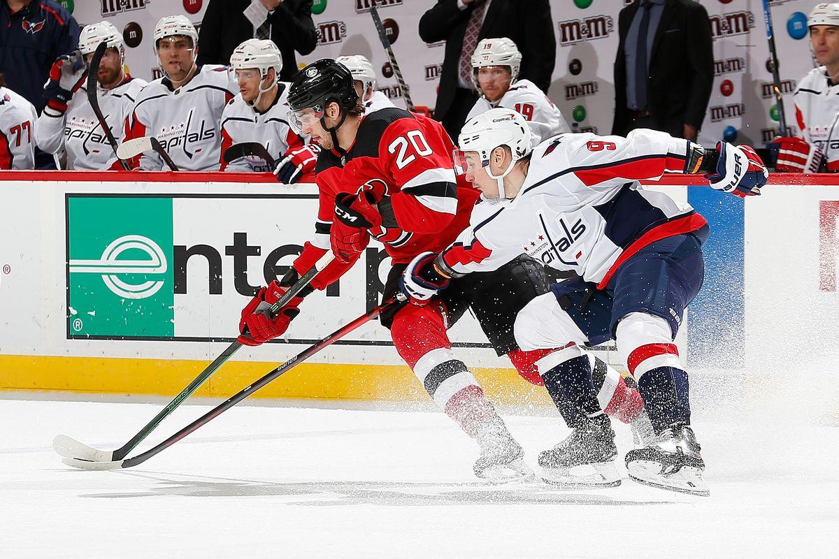 Washington Capitals v New Jersey Devils